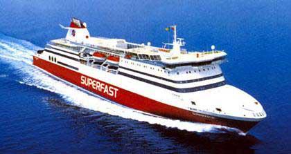 Corfu To Igoumenitsa Car Ferry Price