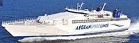 Aegean Speed Lines - Piraeus, Sifnos, Serifos, Milos, Paros, Naxos.