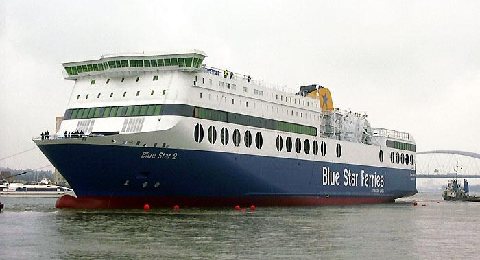 "BlueStarFerries NEW vessel ""Blue Star 2"""