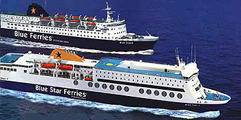 Blue Star Ferries Routes From Piraeus To Aegean Islands