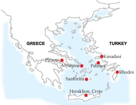 All Greek Islands Cruises 4 Day Cruise To Aegean Islands