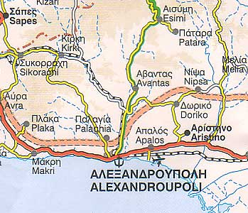 Alexandroupoli Ferries Schedules Connections Availability