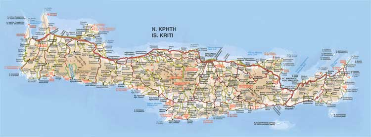 Kreta ferries schedules connections availability prices to