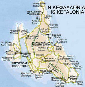 Kefalonia ferries schedules connections availability prices to