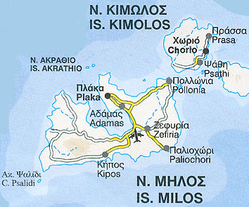 Milos ferries schedules connections availability prices Milos