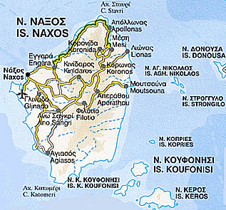 Naxos ferries schedules connections availability prices to Greece