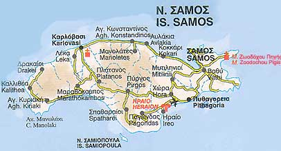 Samos ferries schedules connections availability prices to Greece