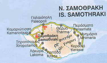 Samothraki ferries schedules connections availability prices to