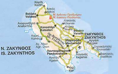 Zakynthos  ferries schedules connections availability prices