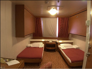 Cabins and Air type seats on Minoan Lines HighSpeed ferry ARIADNE ...