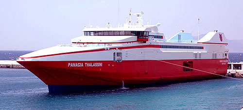 Nel Lines Ferries Mykonos Island Schedules
