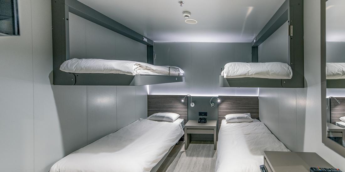 F/B Asterion II 4 bed inside cabin