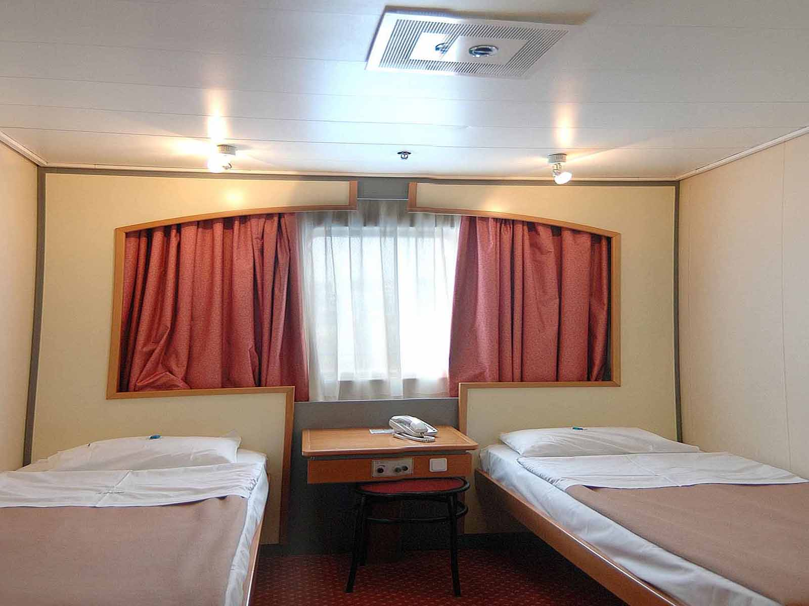 F/B Kriti I 2 Bed outside cabin