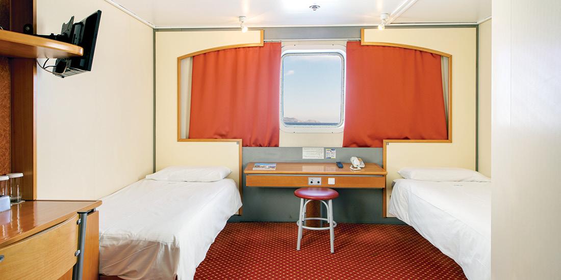 F/B Kriti II 2 Bed outside cabin