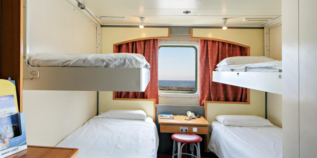 F/B Kriti II 4 Bed outside cabin