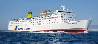 F/B Prevelis -Aegeon Pelagos Sea Lines