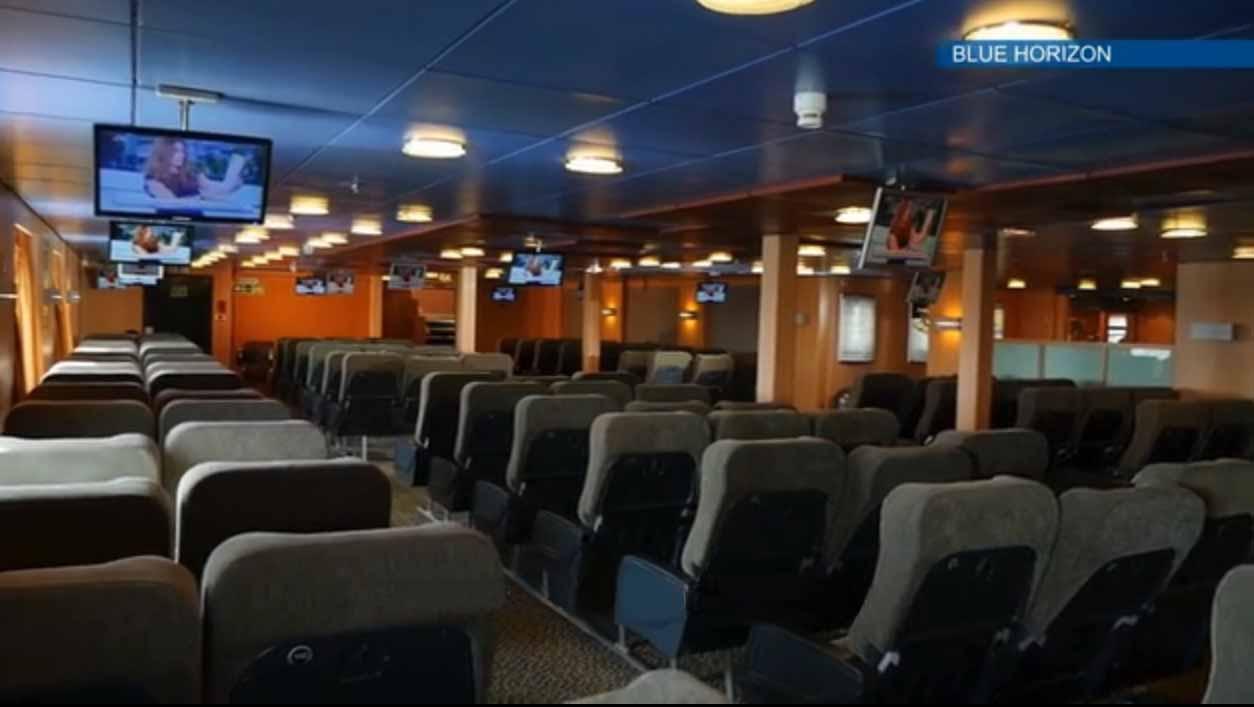 F/B Blue Horizon Air Type Seats