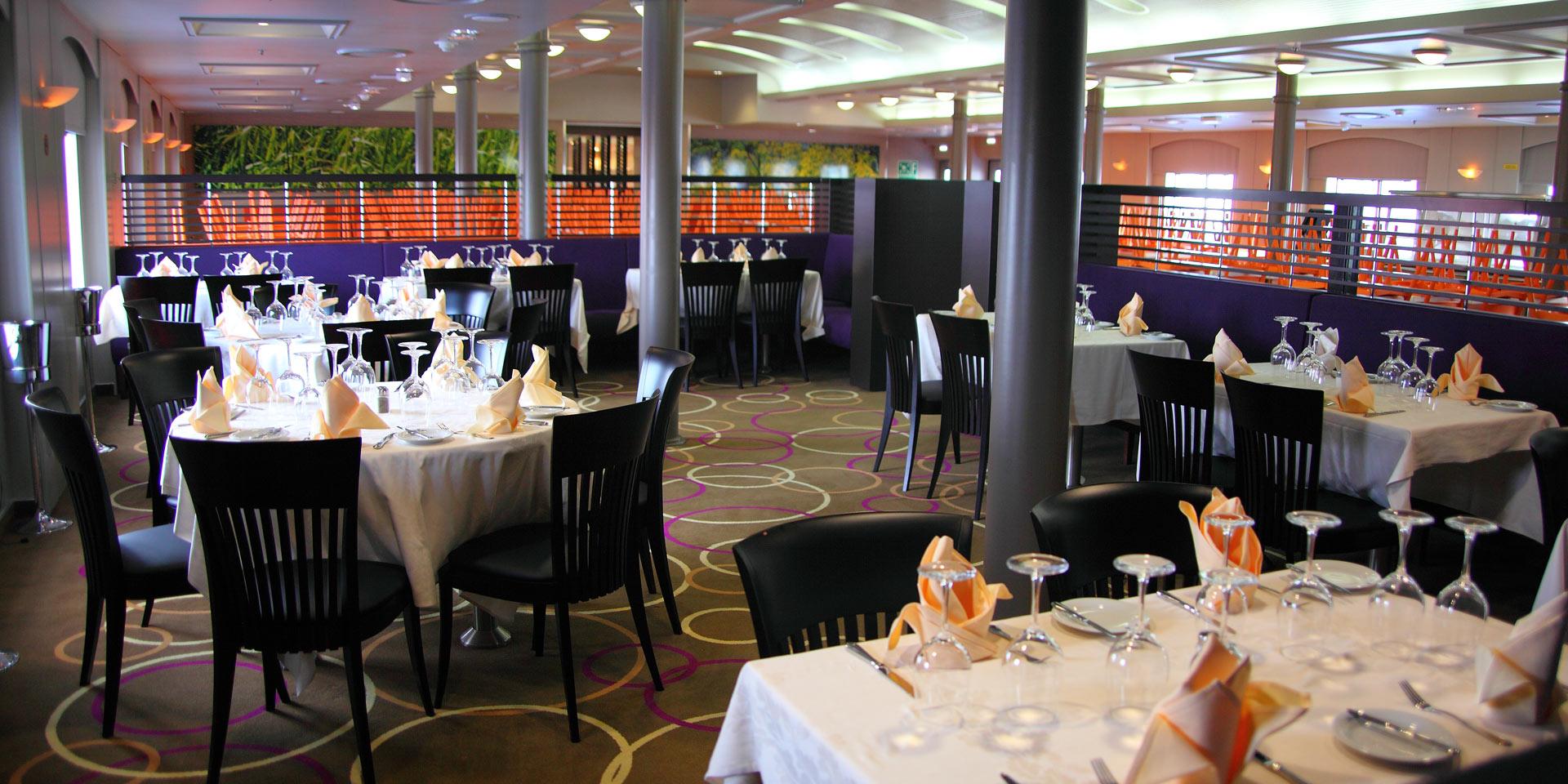 F/B Blue Galaxy Restaurant a la carte