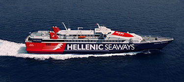 Passenger / Car Ferry  High Speed Hellenic Highspeed -Hellenic Seaways