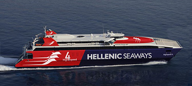 Passenger / Car Ferry Catamaran High Speed Highspeed 4 -Hellenic Seaways