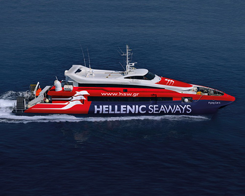 Passenger Catamaran Flying Cat 4 -Hellenic Seaways