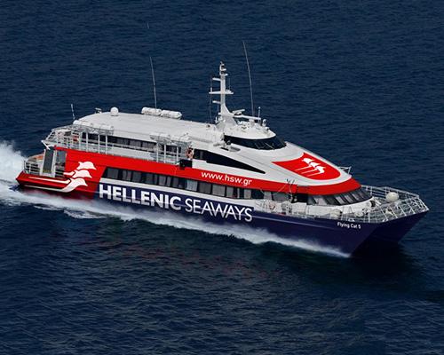 Passenger Catamaran Flying Cat 5 -Hellenic Seaways