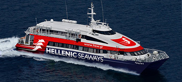 Passenger Catamaran Flying Cat 5 -Hellenic Seaways