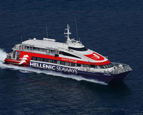 Passenger Catamaran Flying Cat 6 -Hellenic Seaways