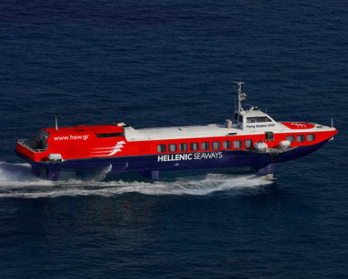Passenger Hydrofoil Flying Dolphin 17 -Hellenic Seaways