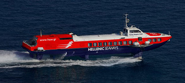 Passenger Hydrofoil Flying Dolphin 29 -Hellenic Seaways