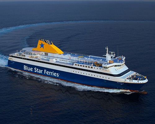 F/B Blue Star Myconos -Hellenic Seaways