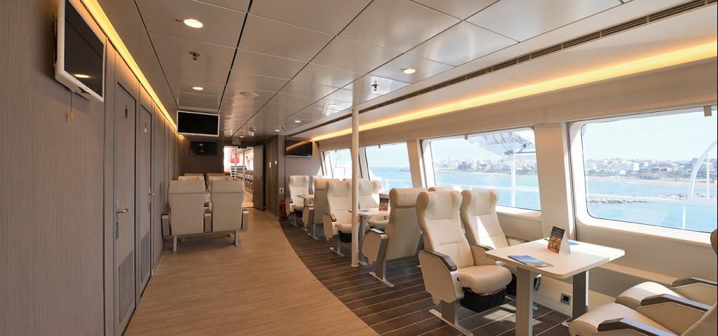 Passenger / Car Ferry  High Speed Hellenic Highspeed Vip class
