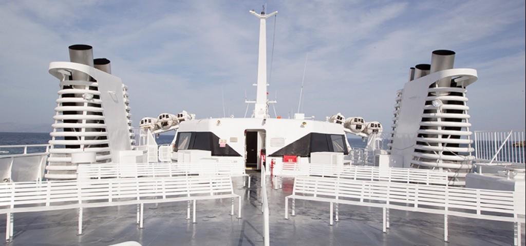 Passenger / Car Ferry  High Speed Hellenic Highspeed Open Deck
