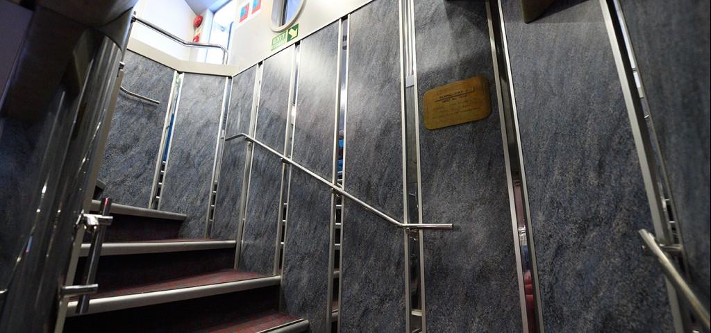 Passenger Catamaran Flying Cat 3 Stairs to Upper Deck