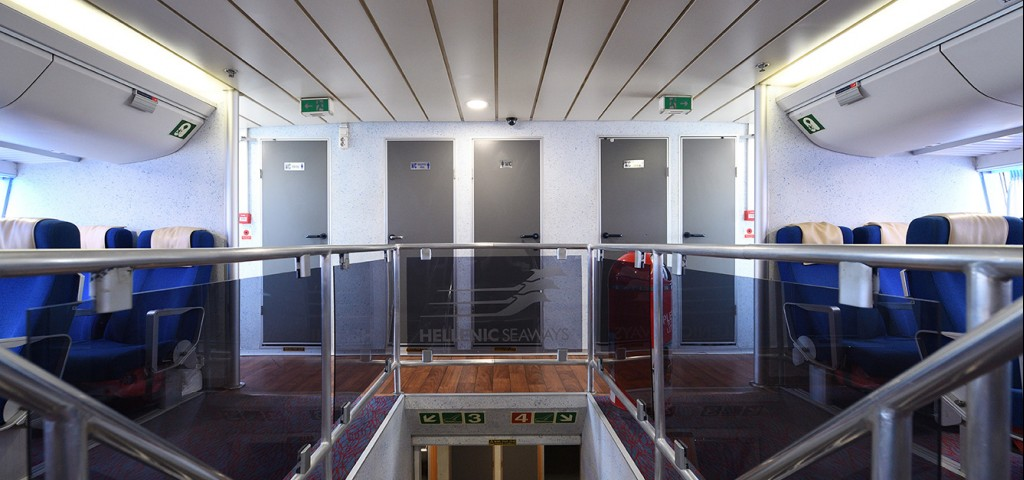 Passenger Catamaran Flying Cat 5 Stairs to Upper Deck