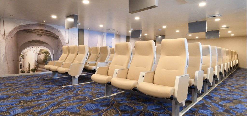F/B Nissos Samos Air Type Seats