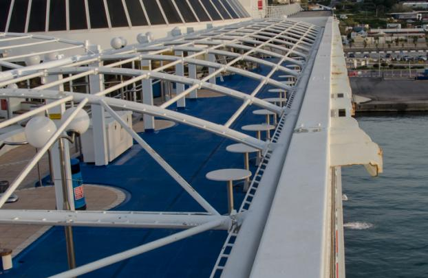 H/S/F Knossos Palace Open deck