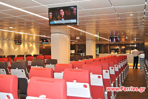 H/S/C Santorini Palace Economy Class - TV