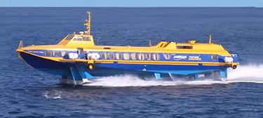 Hydrofoil Venus I -Aegean Flying Dolphins