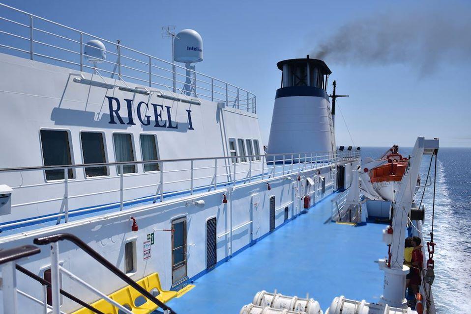 F/B Rigel I Open deck