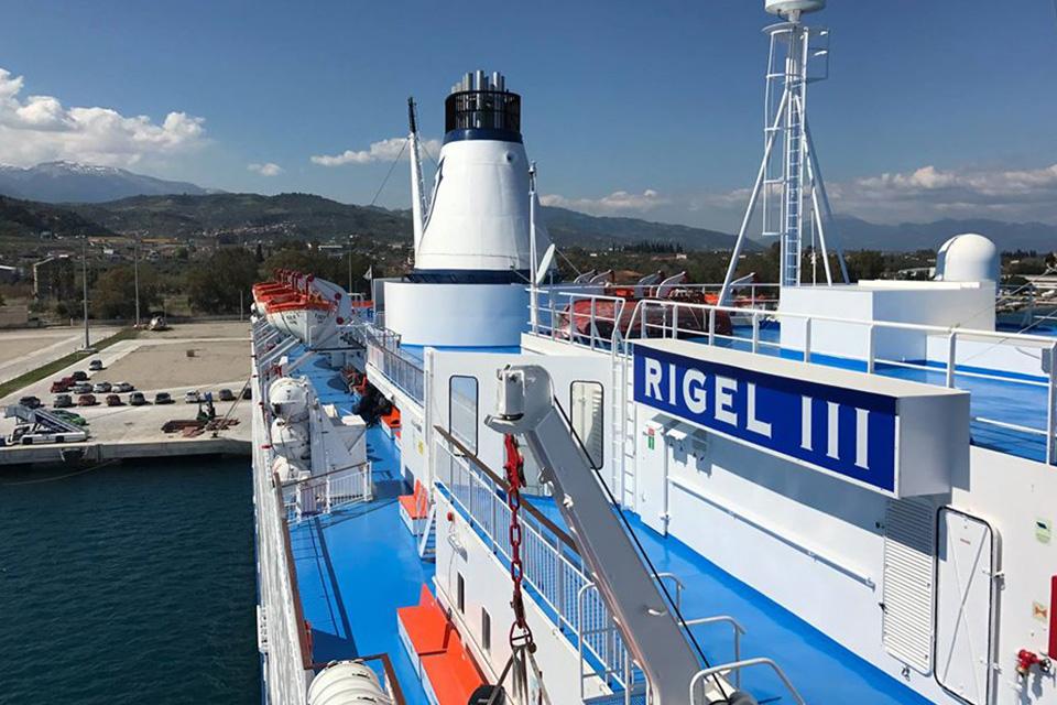 F/B Rigel III Open deck