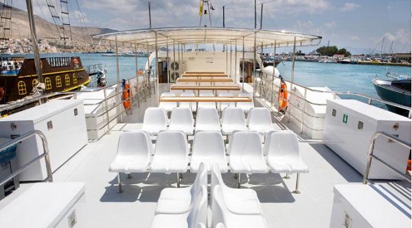 F/B Apollon II Open Deck Seats
