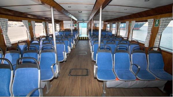 F/B Ilias T. Interior Seats