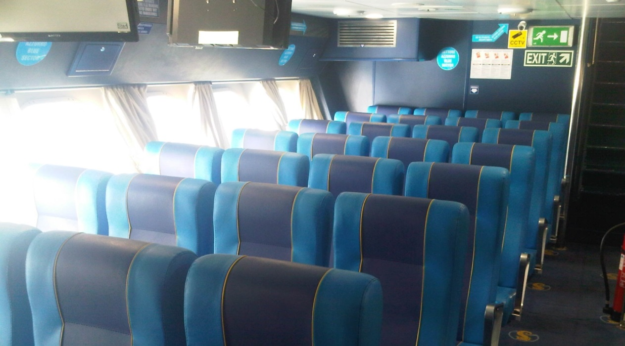 Hydrofoil Ammari Air Type Seats