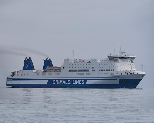 Passenger/Ro-Ro Euroferry Corfu -Grimaldi Lines