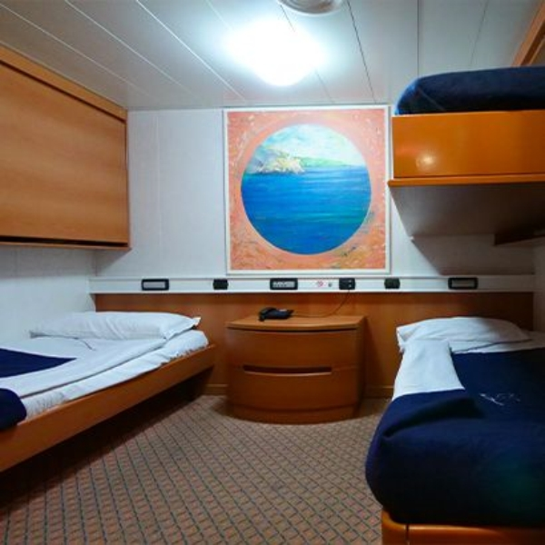 Passenger/Ro-Ro Florencia Internal cabin - two bed