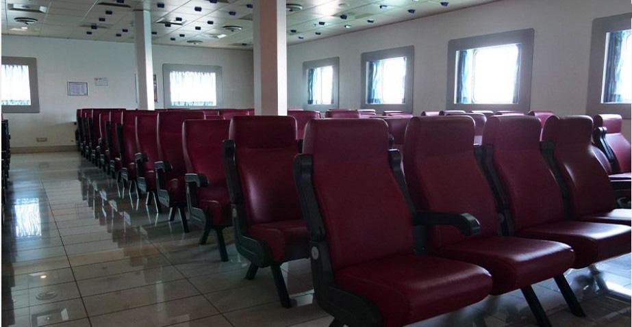 Passenger/Ro-Ro Euroferry Corfu Air type seats