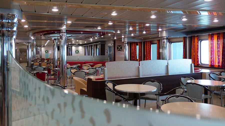 Passenger/Ro-Ro Euroferry Corfu Restaurant - Self service