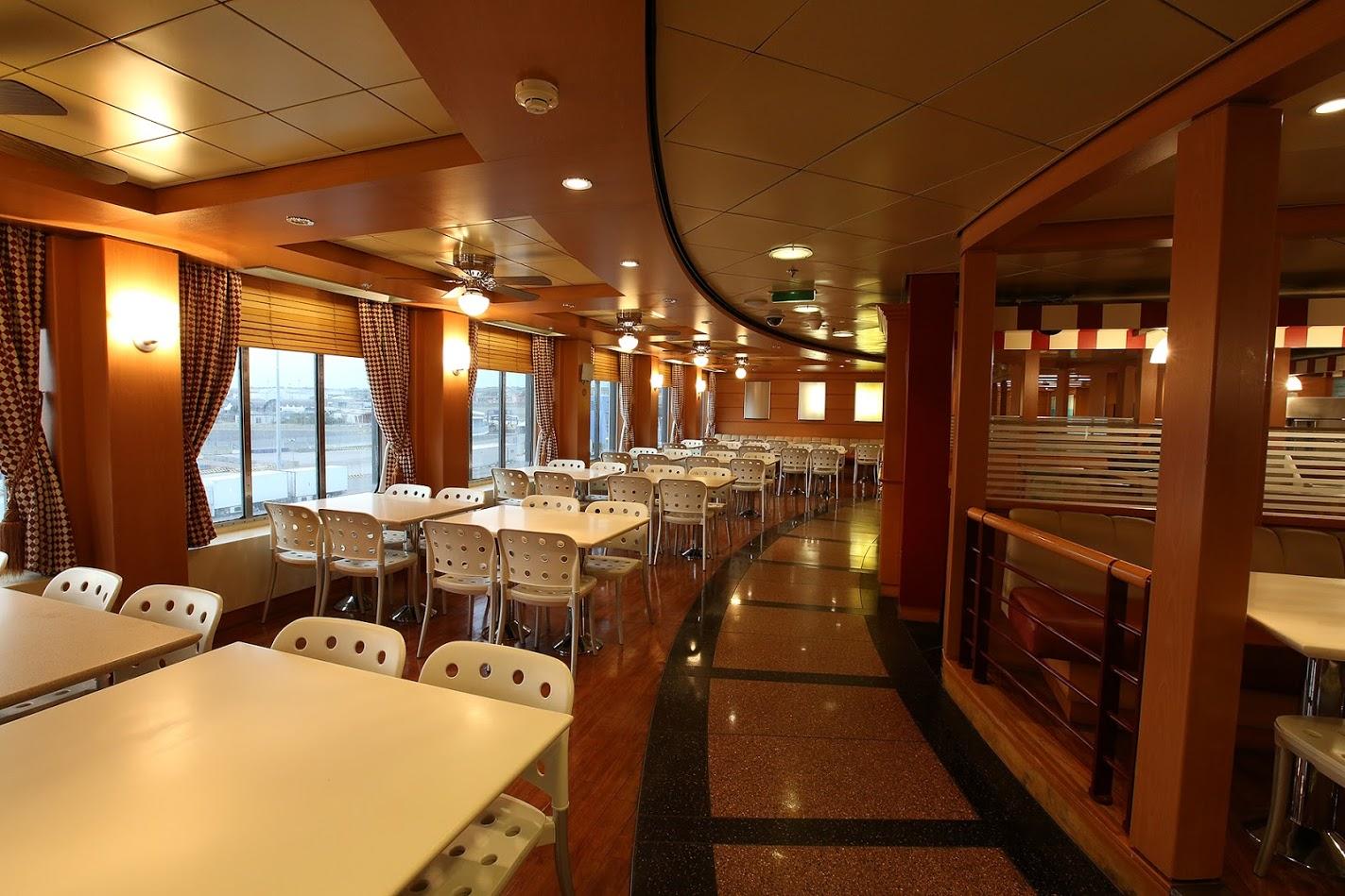 Passenger/Ro-Ro Europa Palace Restaurant self service
