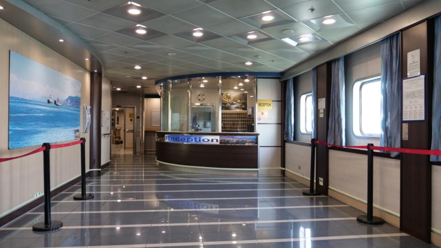 Passenger/Ro-Ro Corfu Reception